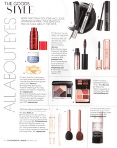 Coverage in Luxe